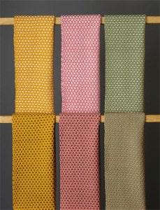 larchmont lattice hand woven scarf bewoven studio