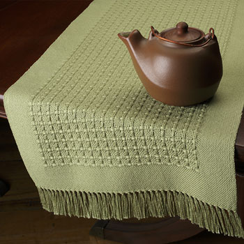 huck boxes hand woven table runners bewoven studio