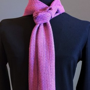 Chicly Slim Handwoven Scarf